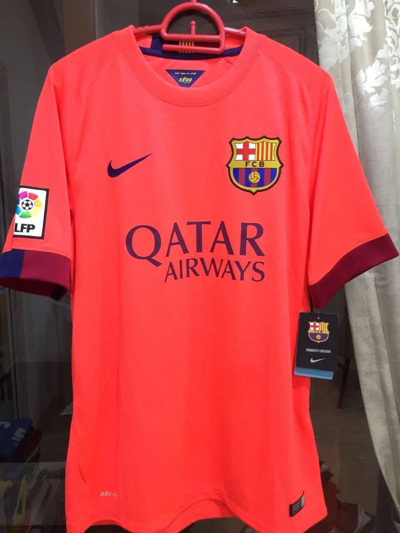 Barcelona Away Jersey sz M