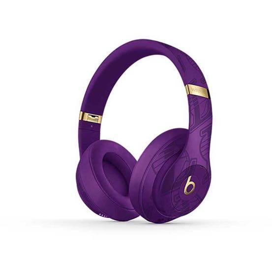 全新🔥Beats Studio3 Wireless 頭戴式耳機 NBA球隊聯名款 湖人隊