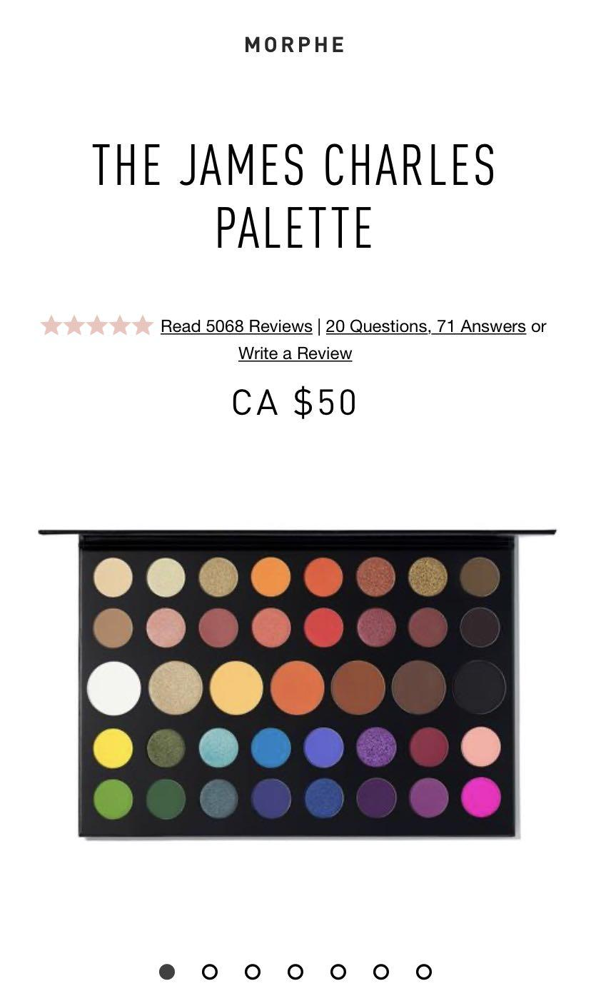 BN‼️ James Charles Artistry Palette