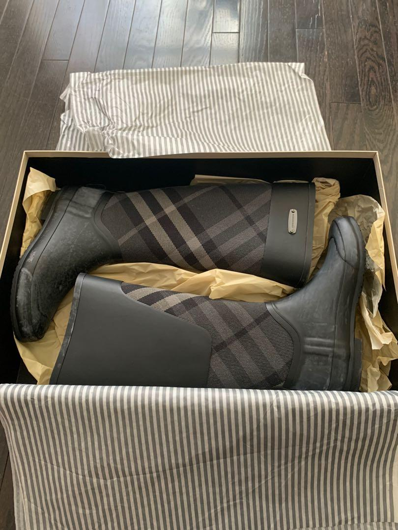 BURBERRY BOOTS AUTHENTIC