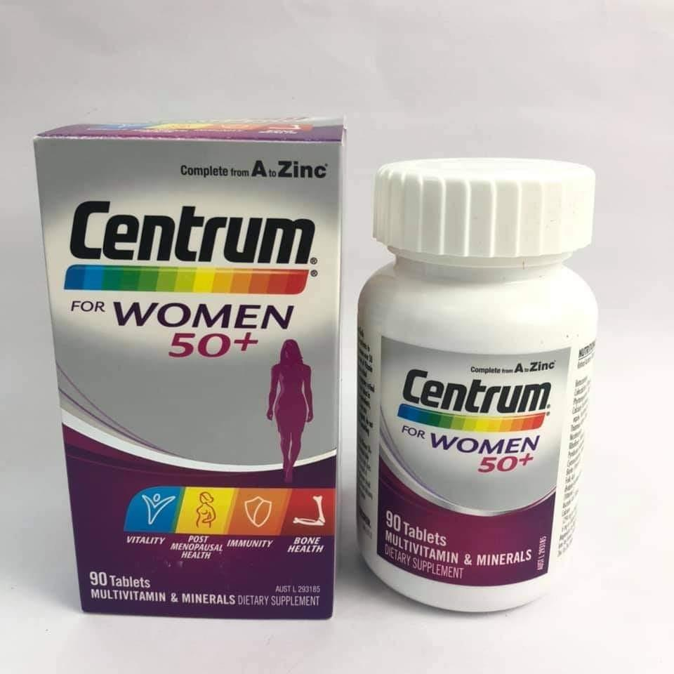 Centrum Women 50+ isi 90 caplets