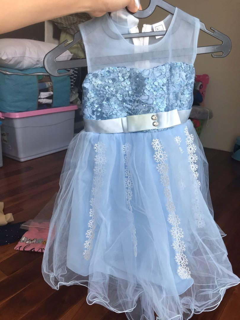Cinderella light blue dress