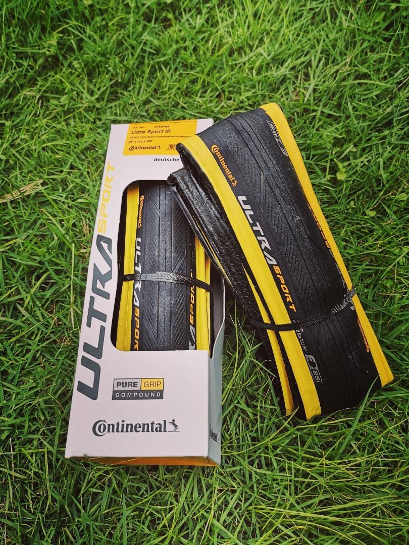 Continental Ultra Sport 3 Classic wall tire 700c