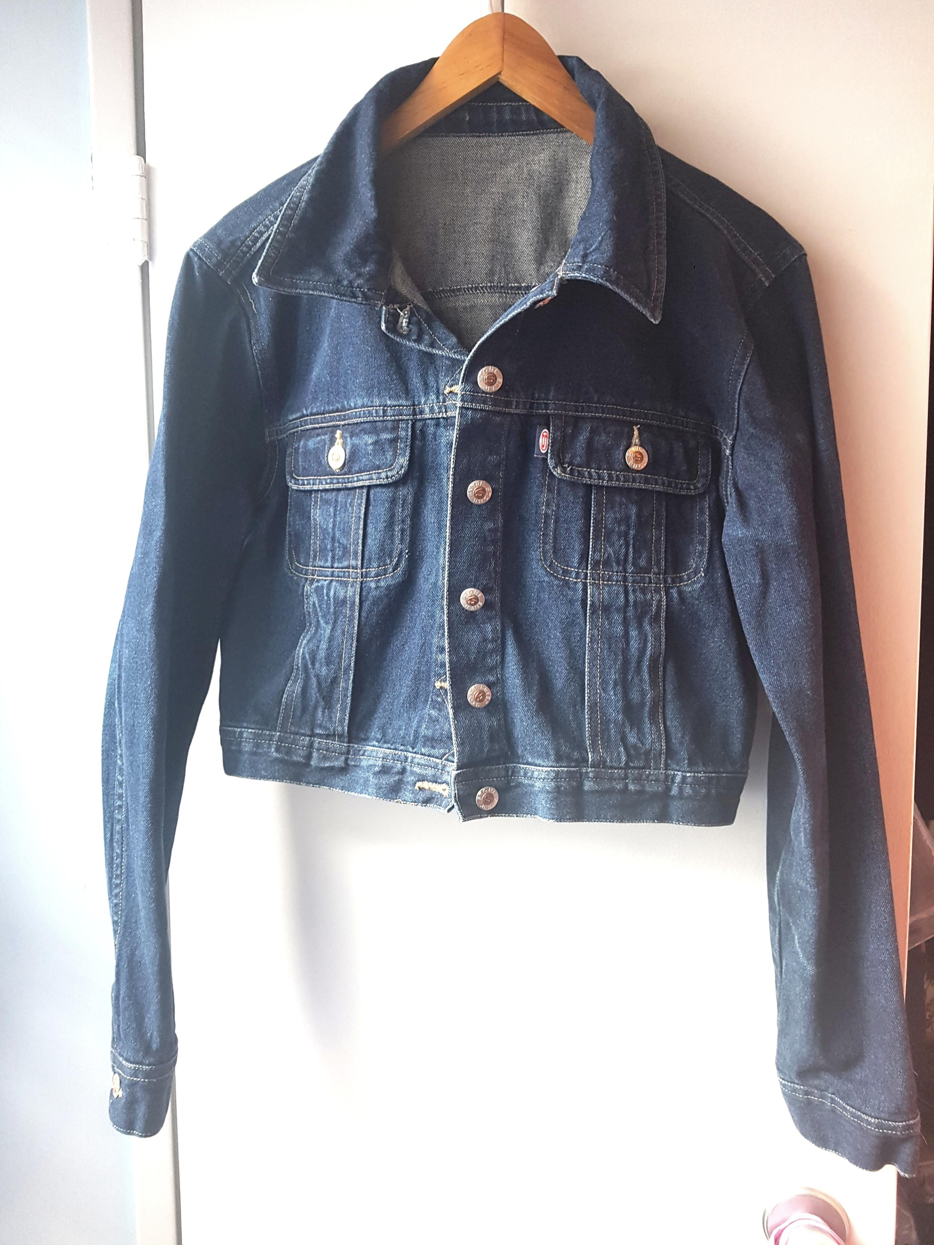 Crop Denim Jean jacket