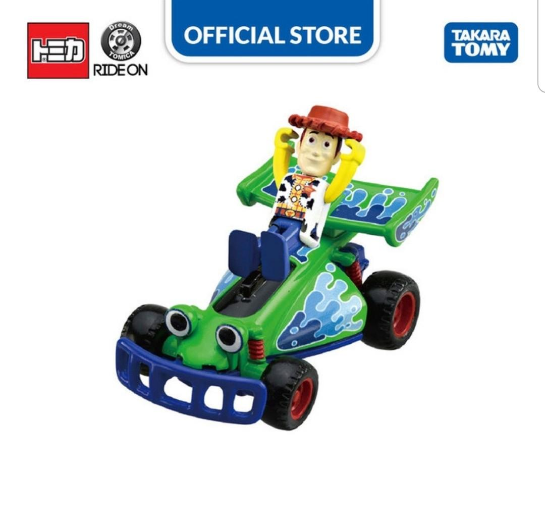 Dream Tomica Ride On Toy Story No.02 Woody  & RC  Original