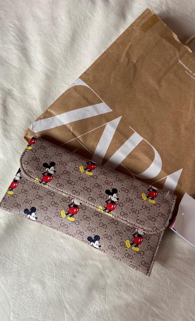 DUPE mickey X zara wallet