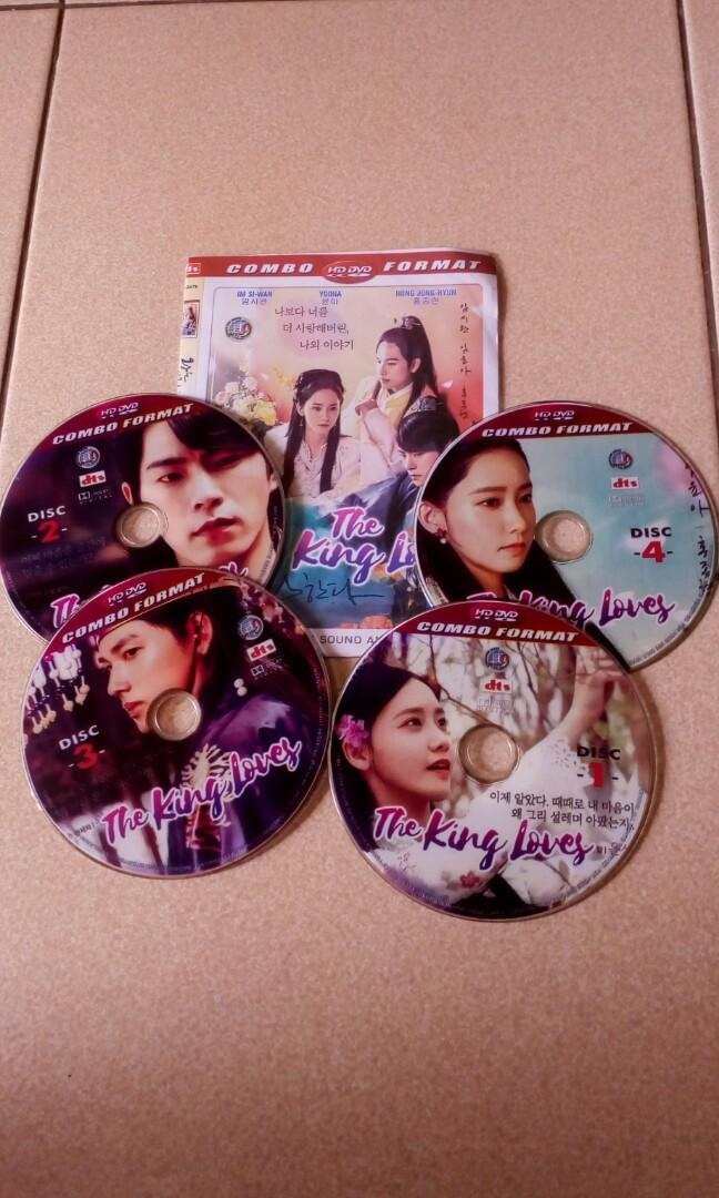 Dvd Korea the king loves