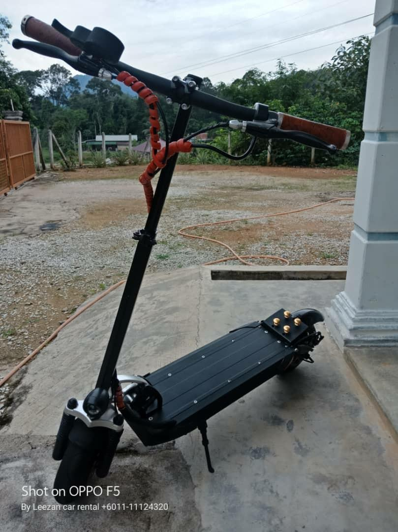 Electric Scooter Futecher 52v