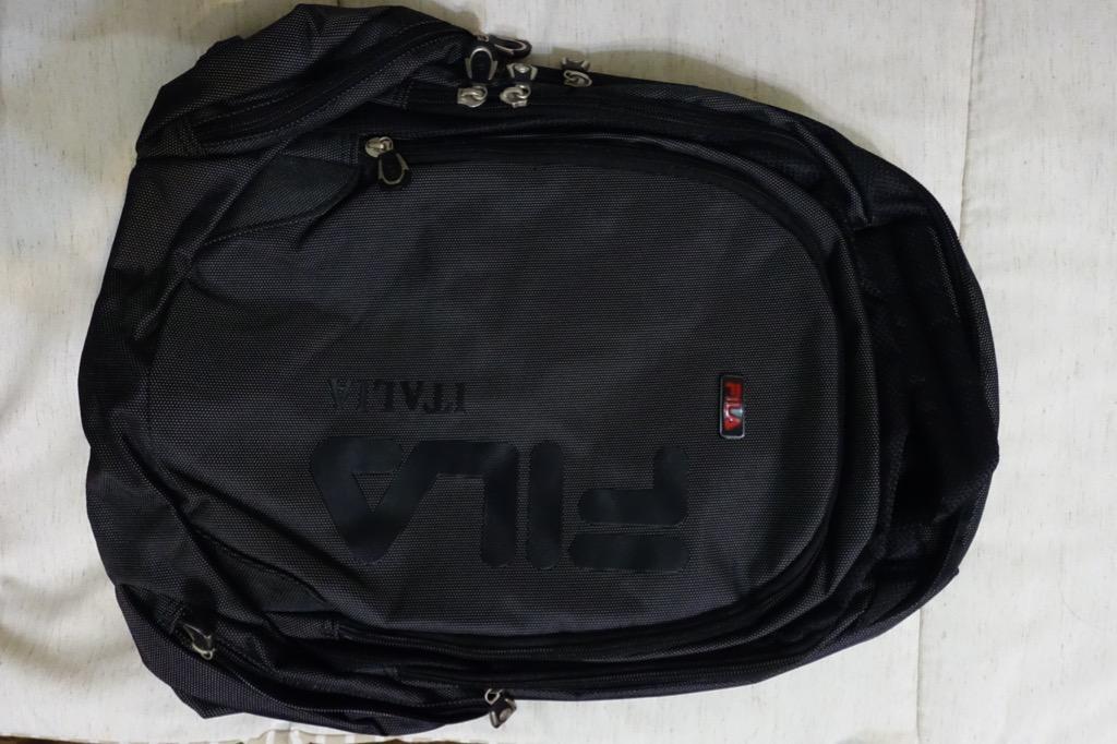 FILA筆電後背包/後背包/機能減壓/抗震/多層保護/多功能後背包