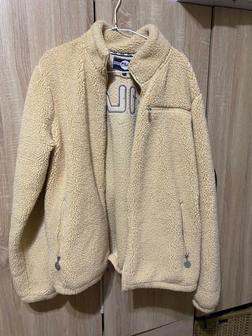 Fila 羊羔毛外套