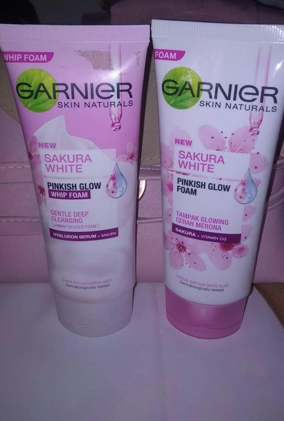 Garnier Sakura White #oktoberovo