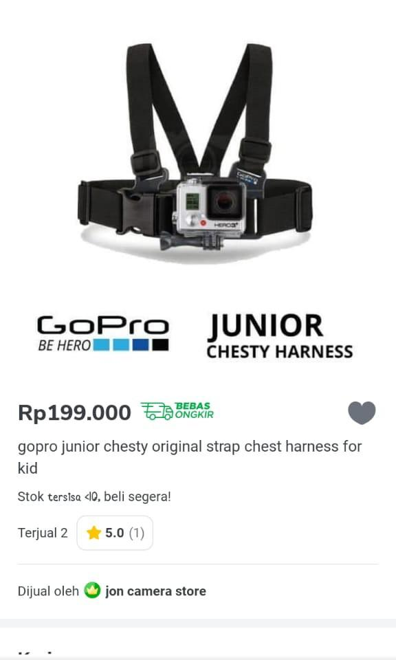 Go-Pro Junior Chesty Original (Strap)