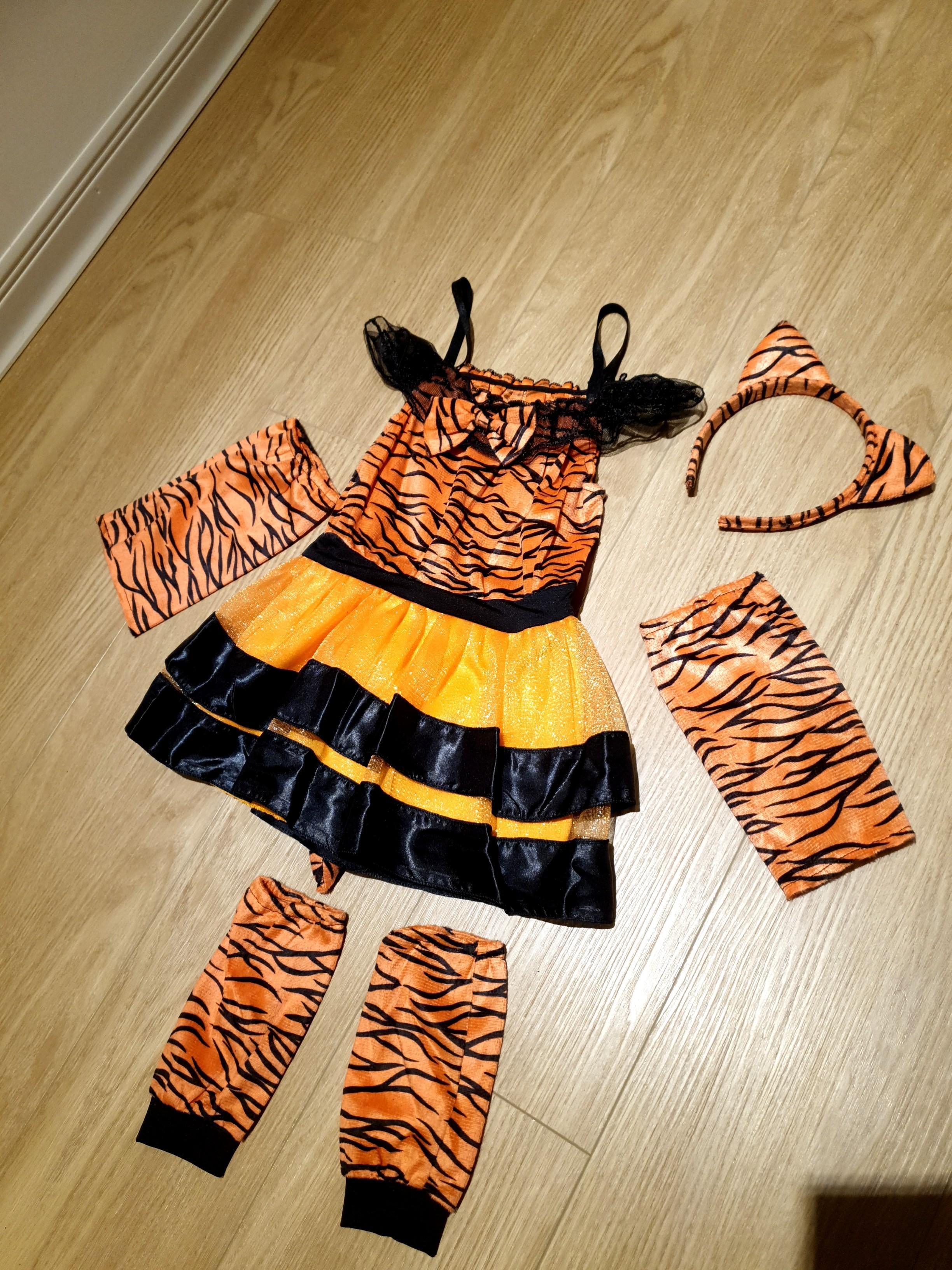美國帶回Halloween老虎套裝