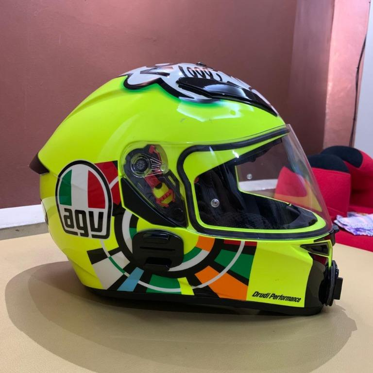 Helm AGV K3 SV Misano (Helm Only)