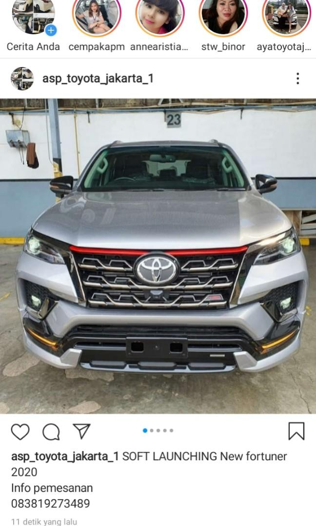 HOT NEW FORTUNER 2020