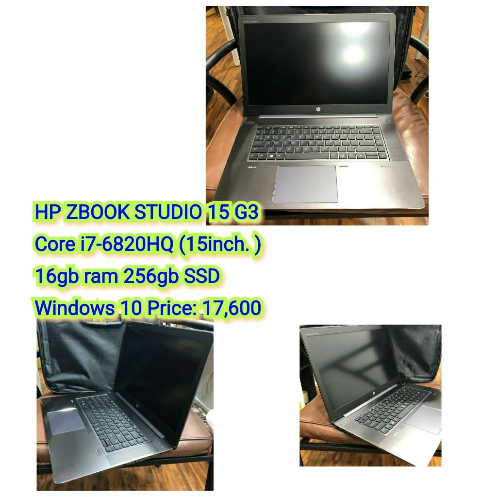 HP ZBOOK STUDIO 15 G3 Core i7-6820HQ