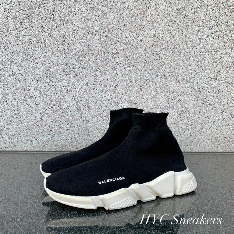 [HYC] BALENCIAGA 初代 黑白 襪套 EU42 裸鞋