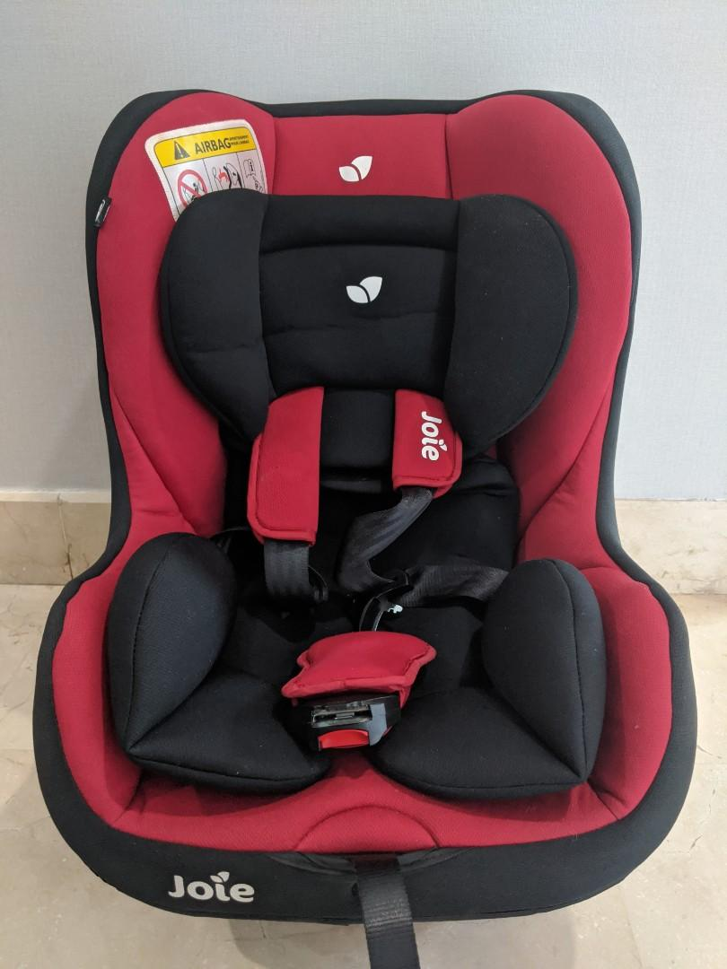 JOIE TILT CAR SEAT LADY BUG RED