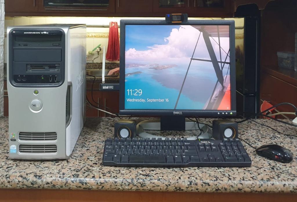 Jual Satu Set Komputer Dell  4gb