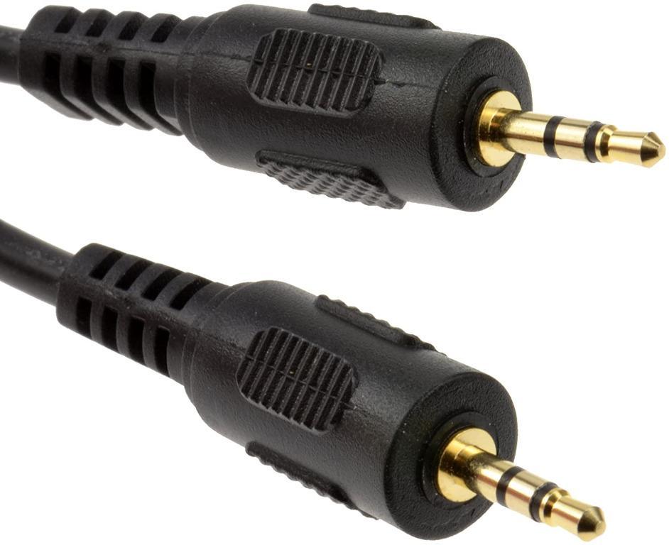 kenable 2.5mm 4 Pole Jack Plug to 2.5mm 4 Pole Jack Plug AV Cable 1m ~3 feet