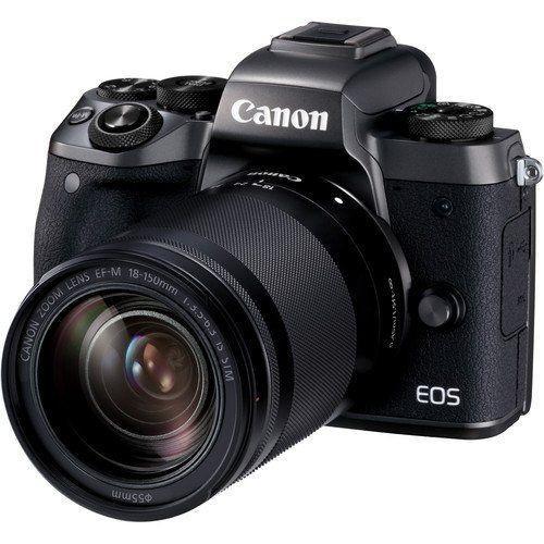 Kredit Canon EOS M5 Mirrorless Digital Camera with 18-150mm Lens