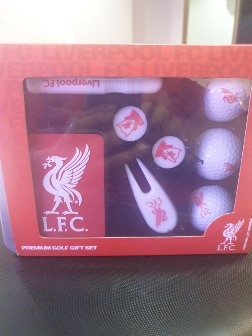Liverpool golf set gift