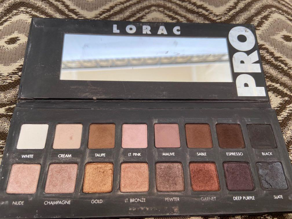 Lorac pro eyeshadow pallete