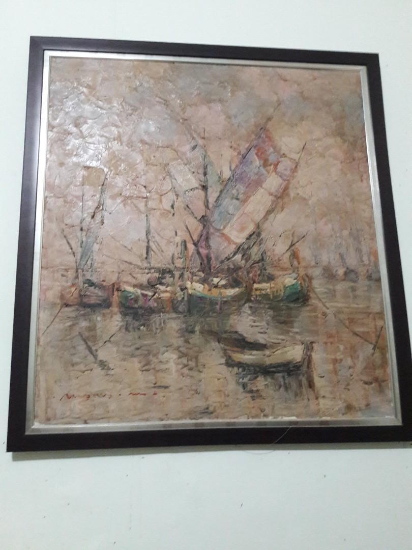 Lukisan kapal layar Moses