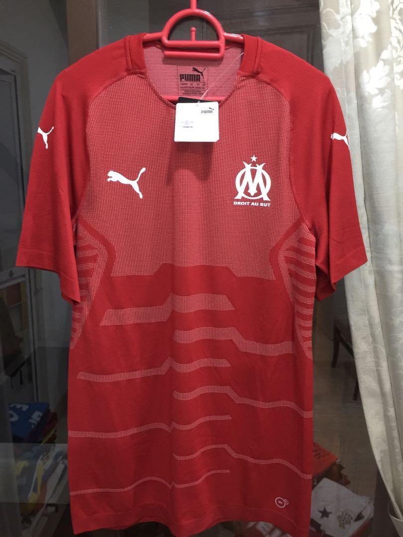 Marseille Goalkeeper Player Issue Jersey