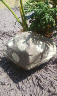 masker tie dye waterproof motif polka stone