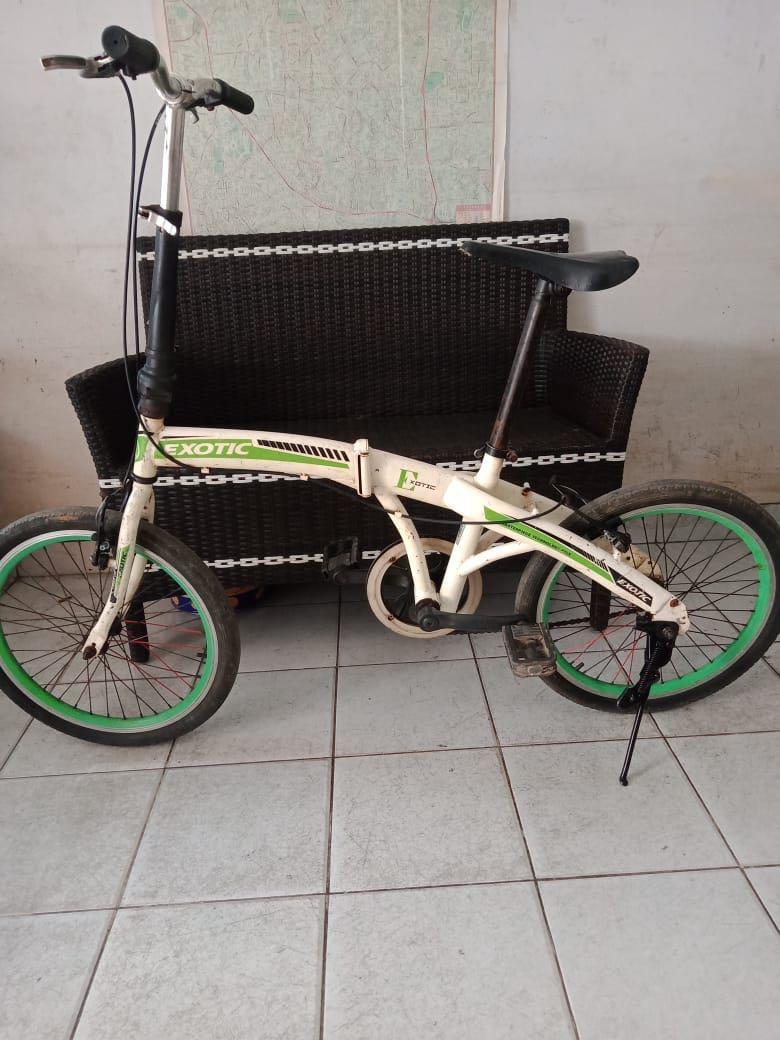 #mauovo Sepeda Lipat exotic 20