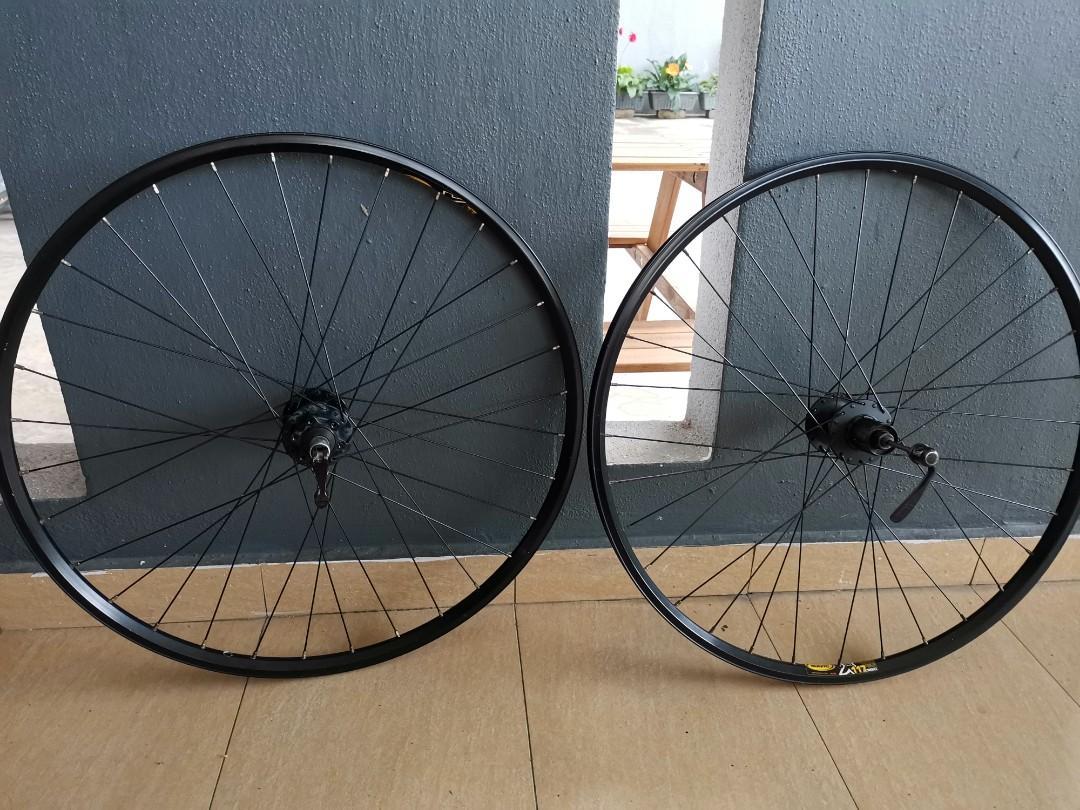 Mavic wheelset