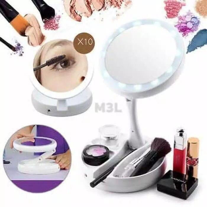 Mirror makeup
