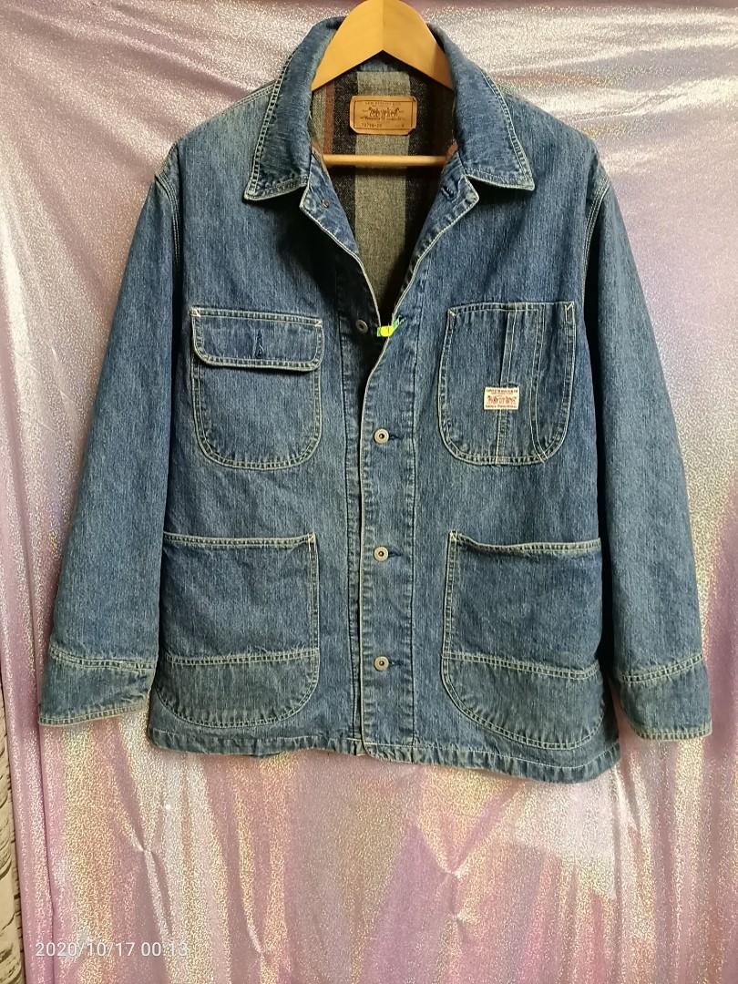 美規m偏大Levis早期內鋪棉復古顧工裝風 四口袋版型 很少有一件#找貨碼33