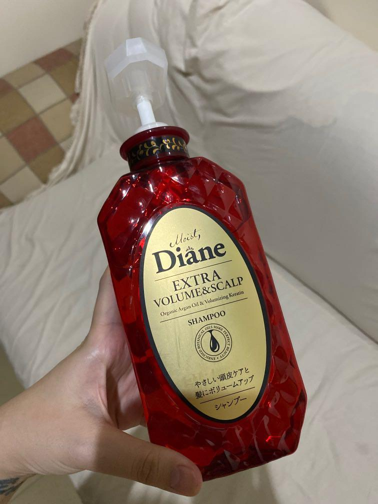 moist diane extra volume and scalp