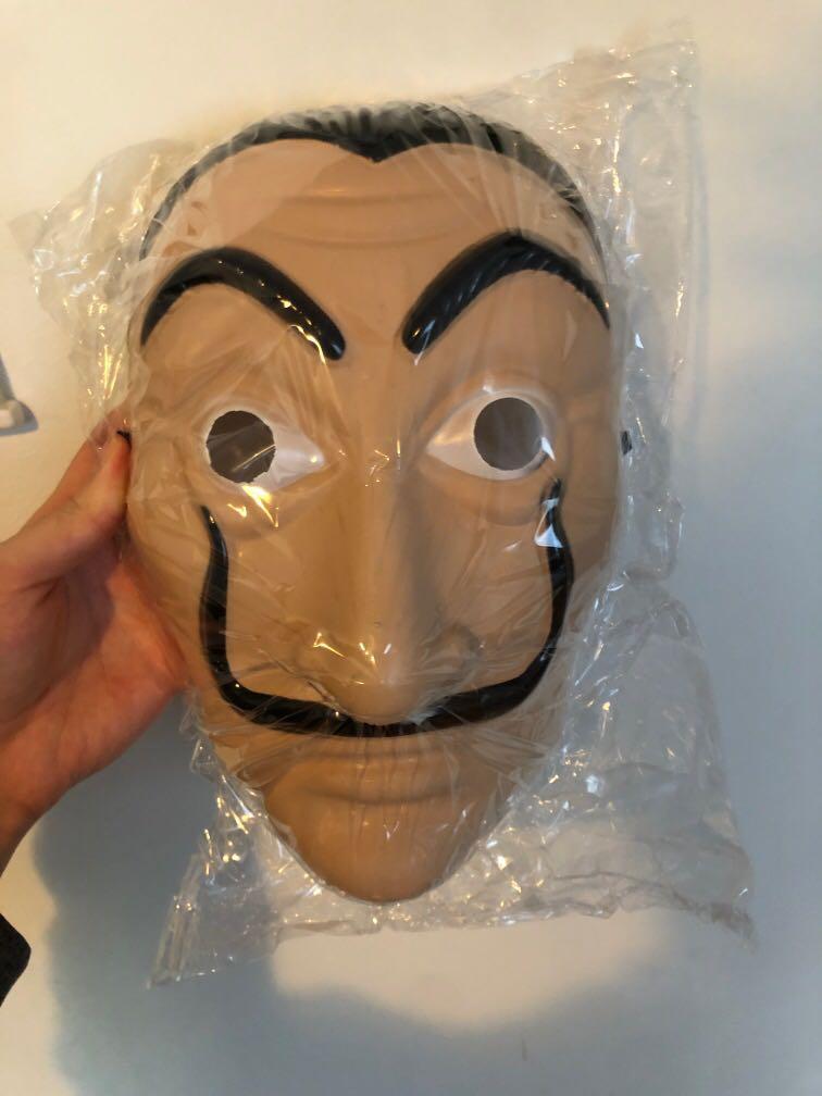 money heist masks