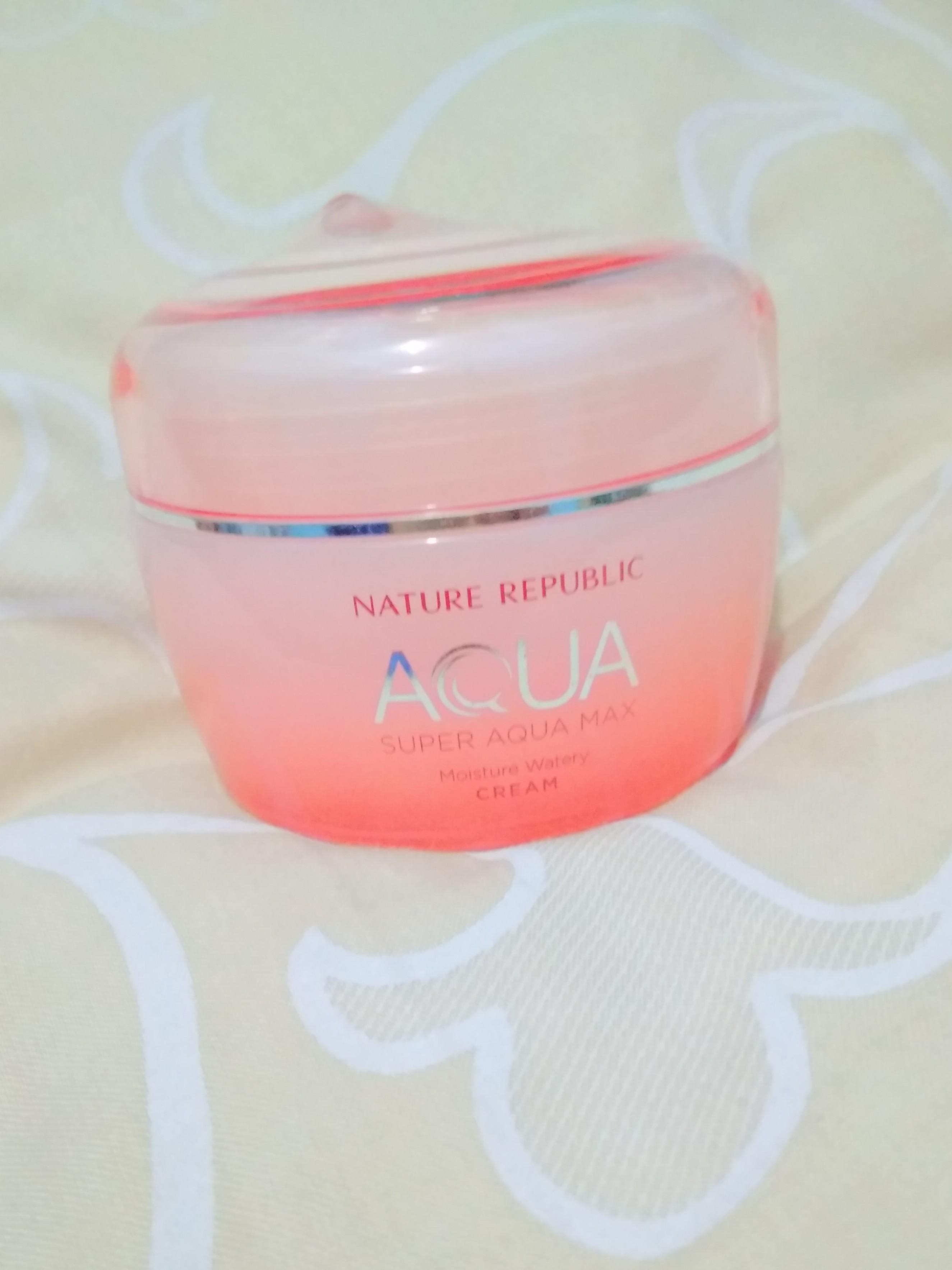 #mauovo Nature republik aqua water cream moisturizer