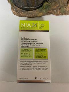 NIA24 Sunscreen