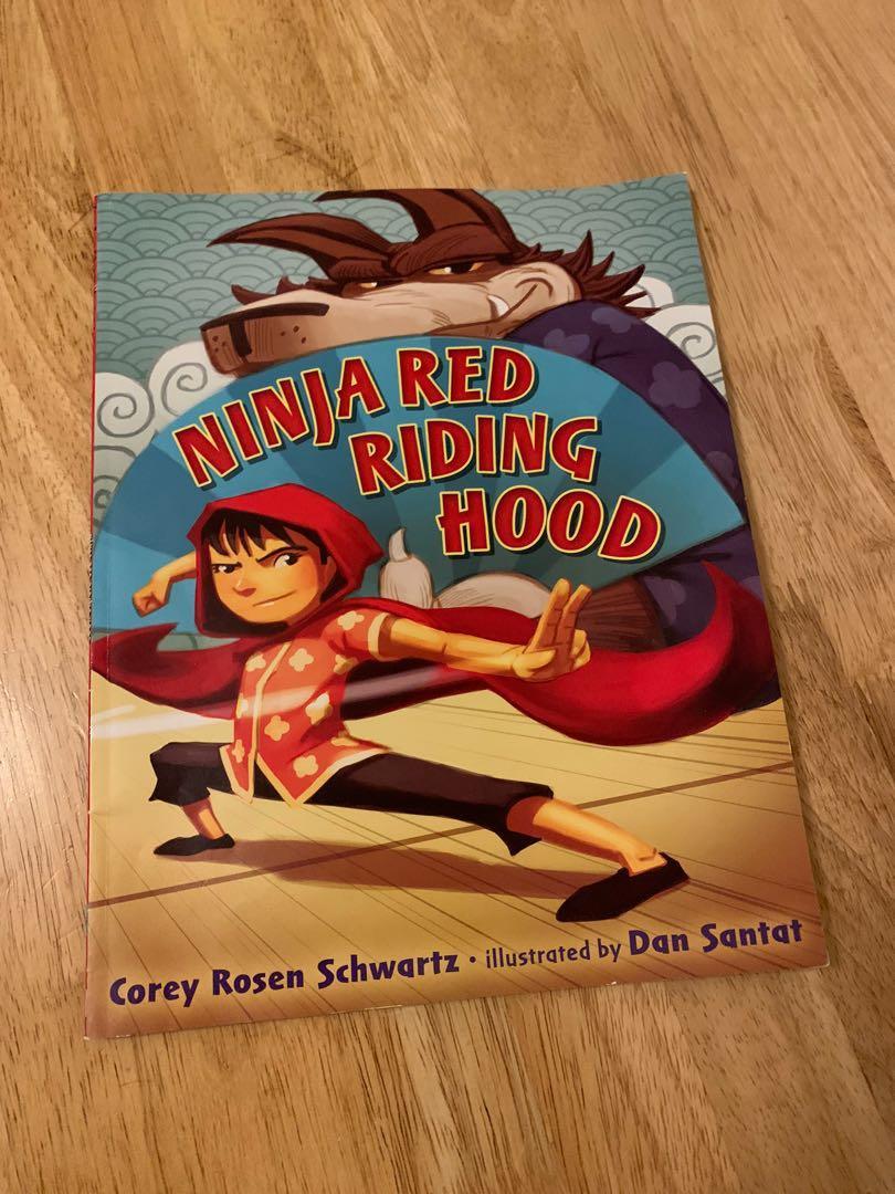 Ninja red riding hood story