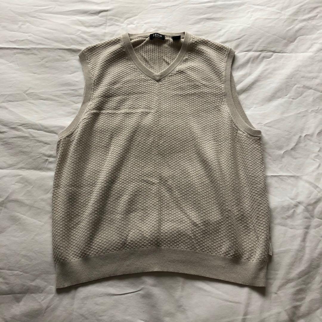 Oatmeal sweater vest