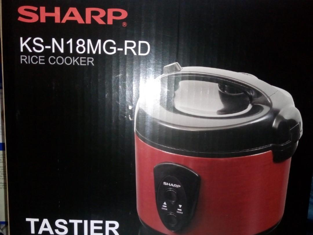 rice cooker sharp KS-N18MG-RD