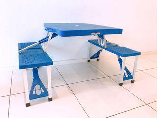 Outdoor Foldable Aluminum Hand Carry Picnic Camping  Table