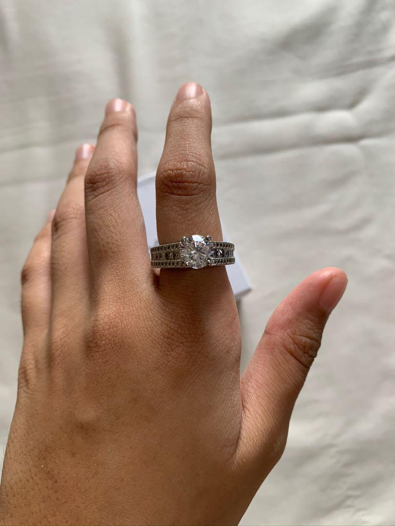 Pandora Ring Size 7 Luxury Accessories On Carousell