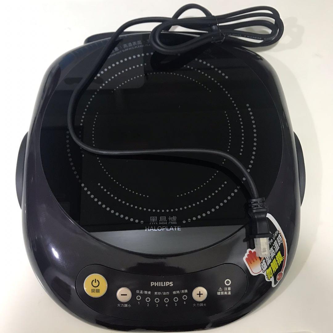 Philips不挑鍋黑晶爐(HD-4998)