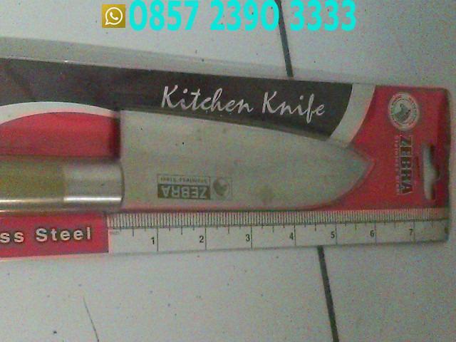 Pisau Kitchen Knife Zebra CNS6421