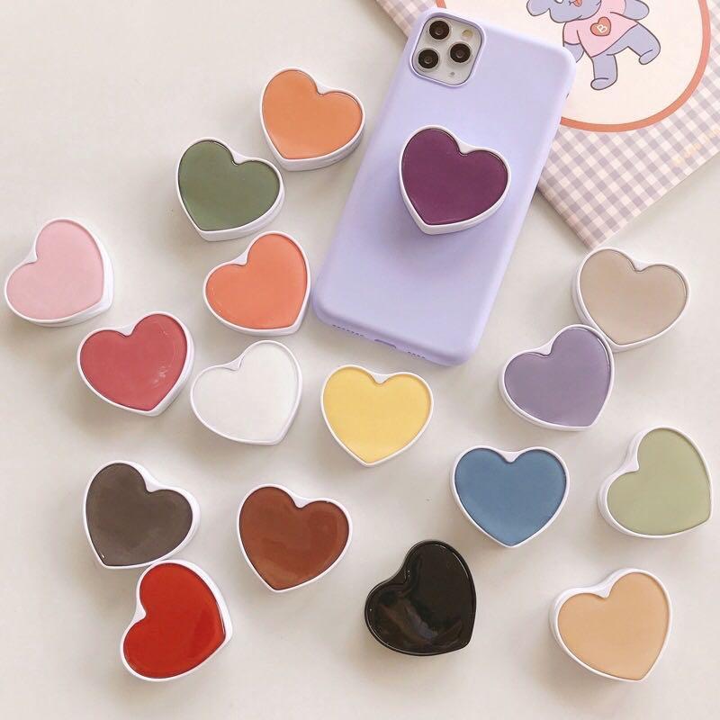 [PO] Heart Pop Socket Phone Grip