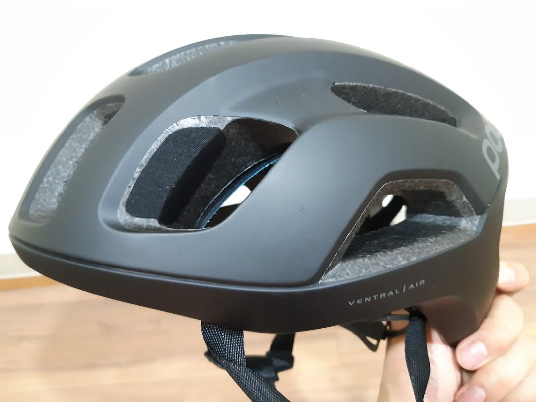 POC Ventral Air Spin Matte Black L Size Helmet