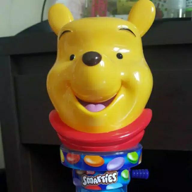 Pooh Dispenser Coklat Dan Permen