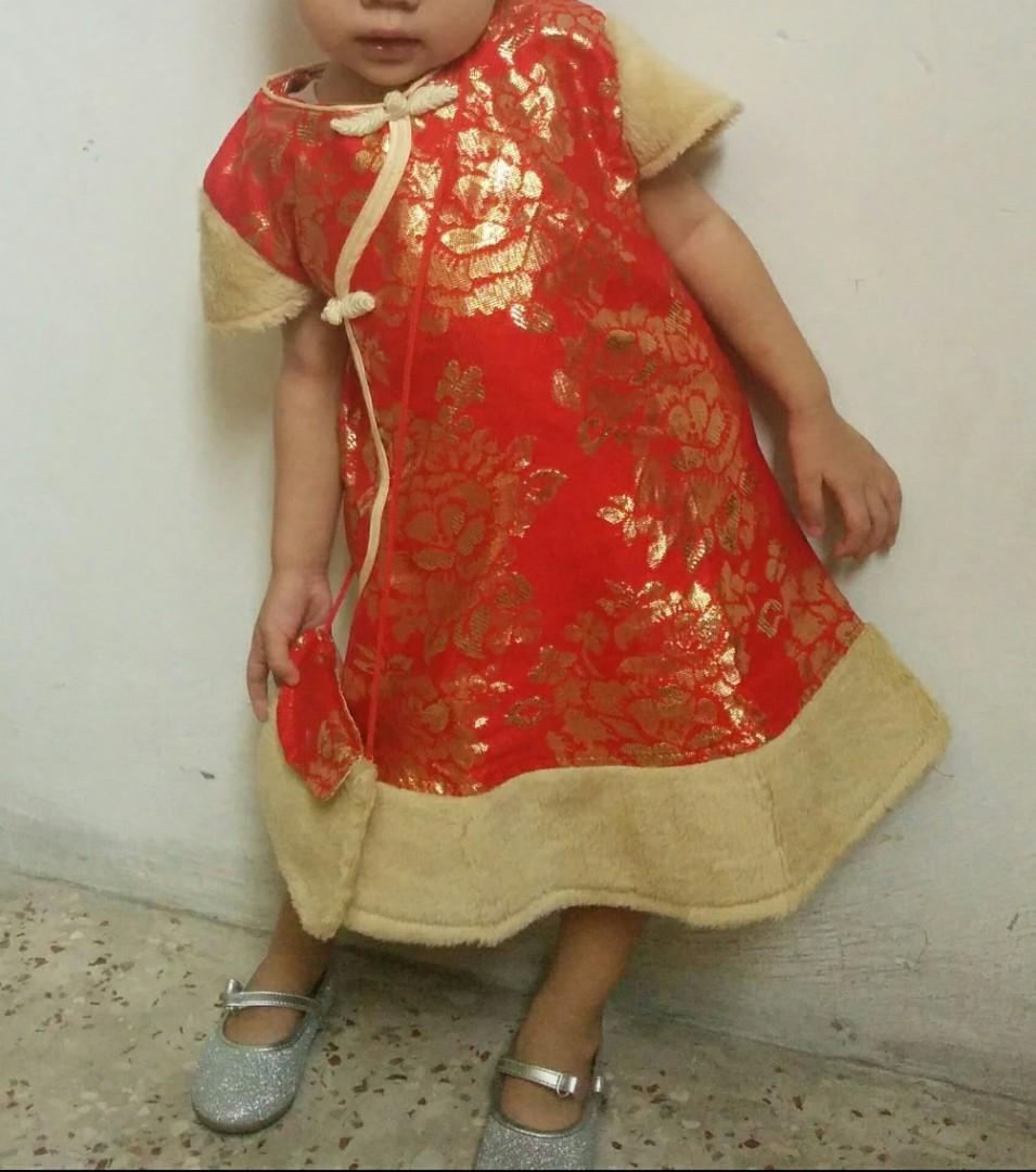 Preloved Dress Cheongsam #oktoberovo