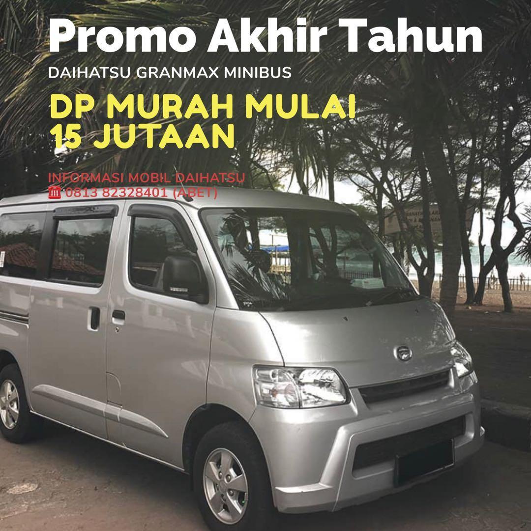 PROMO DP MURAH Daihatsu Granmax Minibus mulai 15 jutaan